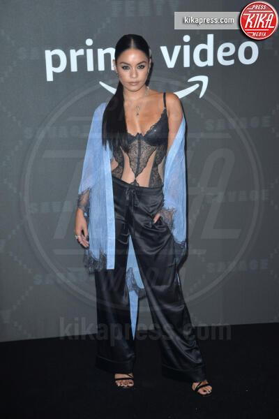 Vanessa Hudgens - New York - 11-09-2019 - Vanessa Hudgens, sotto il vestito niente al Fenty Event