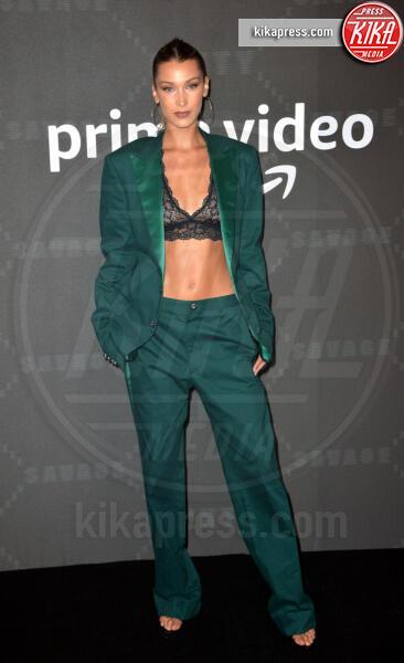 Bella Hadid - New York - 11-09-2019 - Vanessa Hudgens, sotto il vestito niente al Fenty Event