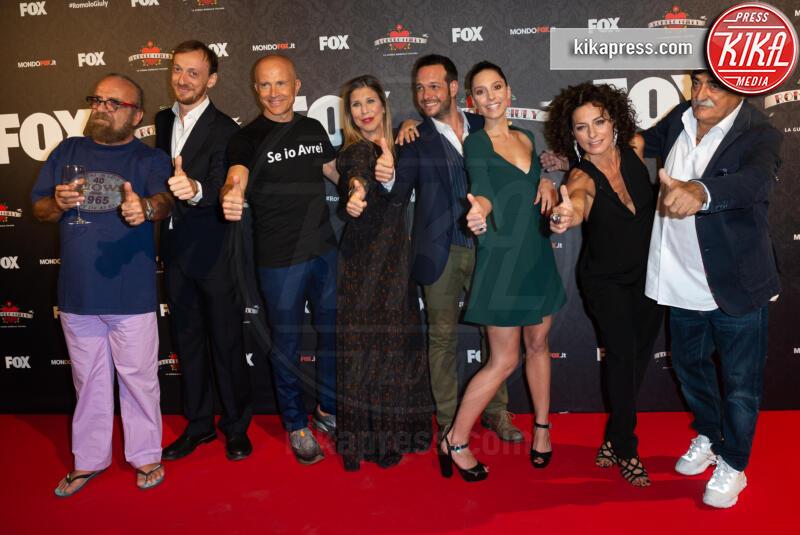 Giorgio Mastrota, Giobbe Covatta - Roma - 13-09-2019 - Al via la seconda stagione di Romolo + Giuly
