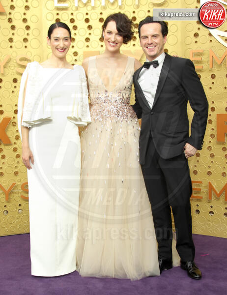 Phoebe Waller- Bridge, Sian Clifford, Andrew Scott - Los Angeles - 22-09-2019 - Emmy 2019: trionfano Fleabag, Game of Thrones e Chernobyl