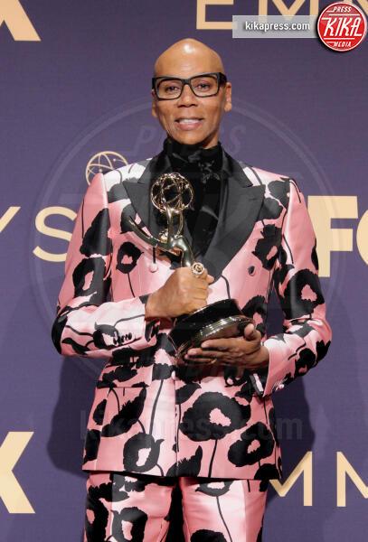 Emmy Winner for Outstanding Competition Program for 'RuPaul's Drag Race', RuPaul - Los Angeles - 22-09-2019 - Emmy 2019: trionfano Fleabag, Game of Thrones e Chernobyl