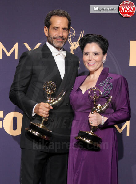 Emmy Winner for Outstanding Supporting actor in a comedy series, Tony Shaloub, Alex Borstein - Los Angeles - 22-09-2019 - Emmy 2019: trionfano Fleabag, Game of Thrones e Chernobyl