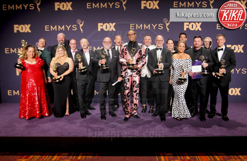 Emmy Winners for Outstanding Competition Program for 'RuPaul's Drag Race', Team, RuPaul - Los Angeles - 22-09-2019 - Emmy 2019: trionfano Fleabag, Game of Thrones e Chernobyl