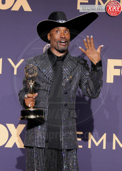 Emmy Winner for Outstanding Lead Actor in a Drama Series for 'Pose', Billy Porter - Los Angeles - 22-09-2019 - Emmy 2019: trionfano Fleabag, Game of Thrones e Chernobyl