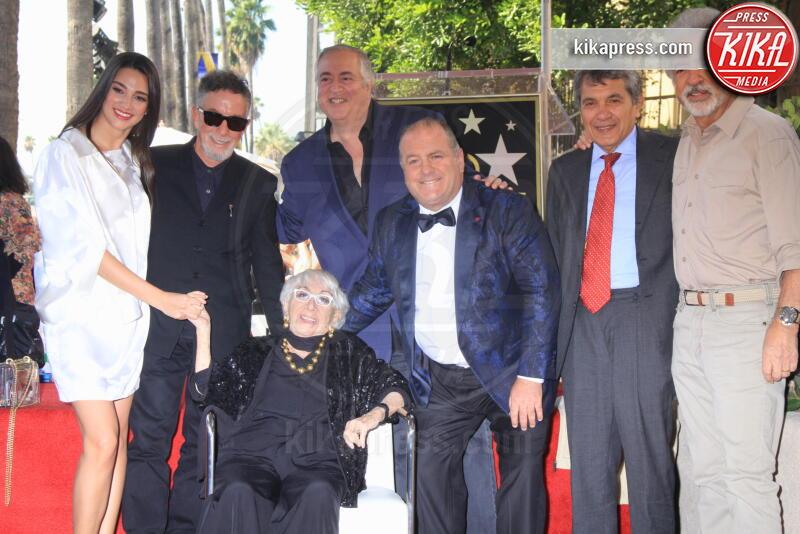 Ivana Canovic, Nick Vallelonga, Pascal Vicedomini, Lina Wertmuller - Hollywood - 29-10-2019 - Lina Wertmüller, la sua stella ora brilla sulla Walk of Fame