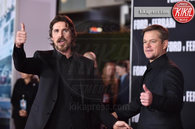 Christian Bale, Matt Damon - Hollywood - 05-11-2019 - Ford V Ferrari, lo sprint di Elisabetta Canalis