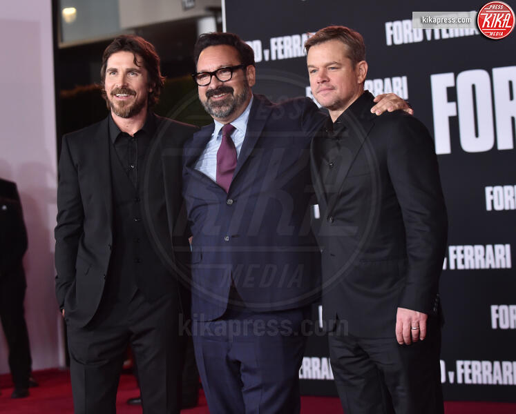James Mangold, Christian Bale, Matt Damon - Hollywood - 05-11-2019 - Ford V Ferrari, lo sprint di Elisabetta Canalis