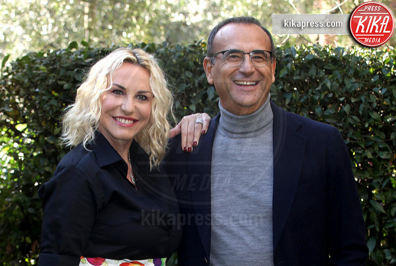 Carlo Conti, Antonella Clerici - Roma - 26-11-2019 - Zecchino d'Oro 2019, condurranno Carlo Conti e Antonella Clerici