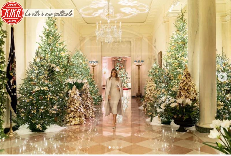 Melania Trump - Washington, D.C. - 03-12-2019 - Natale 2019, gli alberi delle star? Vic Beckham la più originale