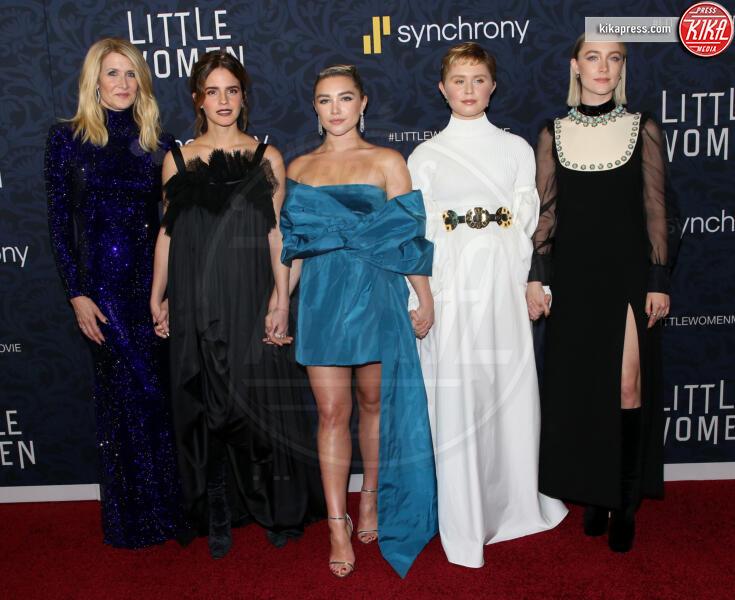 Eliza Scanlen, Florence Pugh, Emma Watson, Laura Dern - New York - 09-12-2019 - Greta Gerwig riporta al cinema le Piccole Donne