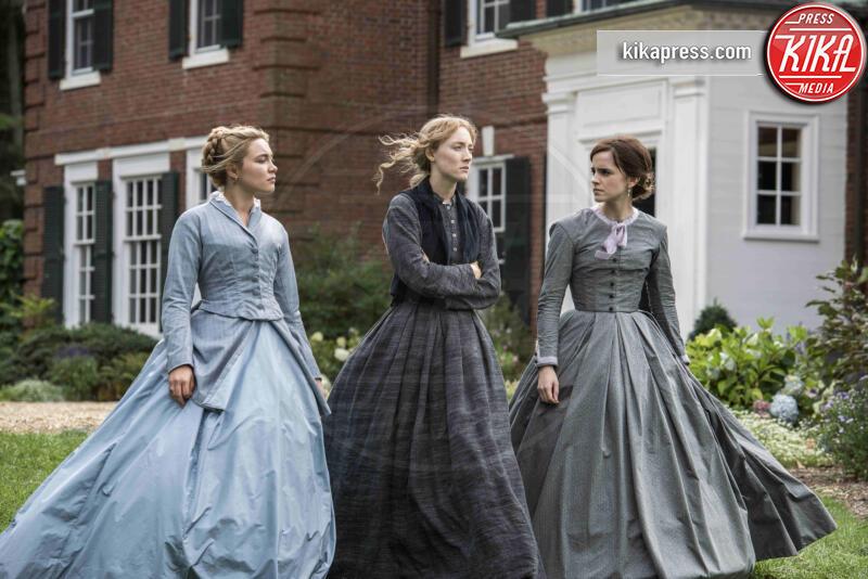 Florence Pugh, Saoirse Ronan, Emma Watson - Hollywood - 22-10-2018 - Greta Gerwig riporta al cinema le Piccole Donne