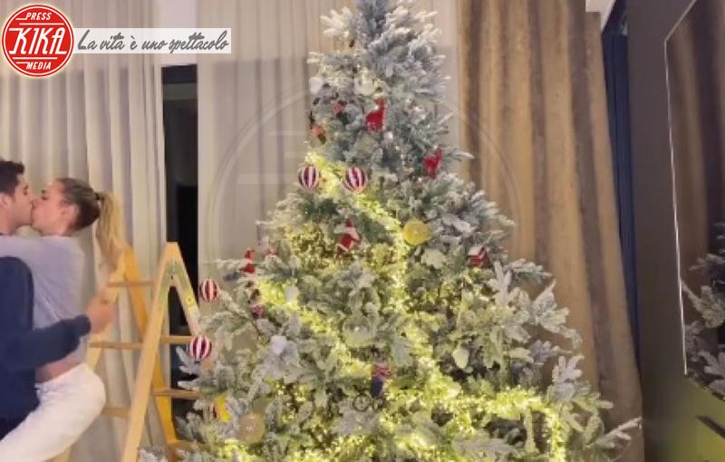 Alice Campello, Alvaro Morata - Hollywood - 09-12-2019 - Natale 2019, gli alberi delle star? Vic Beckham la più originale