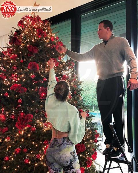 Alex Rodriguez, Jennifer Lopez - Hollywood - 09-12-2019 - Natale 2019, gli alberi delle star? Vic Beckham la più originale
