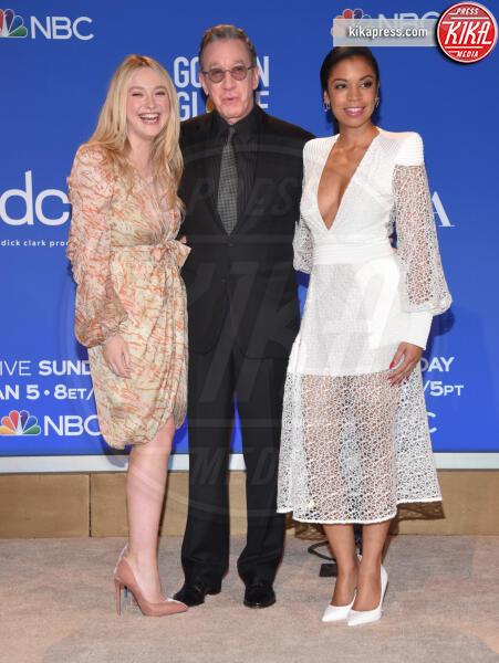 Susan Kelechi Watson, Tim Allen, Dakota Fanning - Beverly Hills - 09-12-2019 - Golden Globes 2020: alle nomination trionfo The Crown e Scorsese