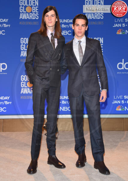 Paris Brosnan, Dylan Brosnan - Beverly Hills - 09-12-2019 - Golden Globes 2020: alle nomination trionfo The Crown e Scorsese