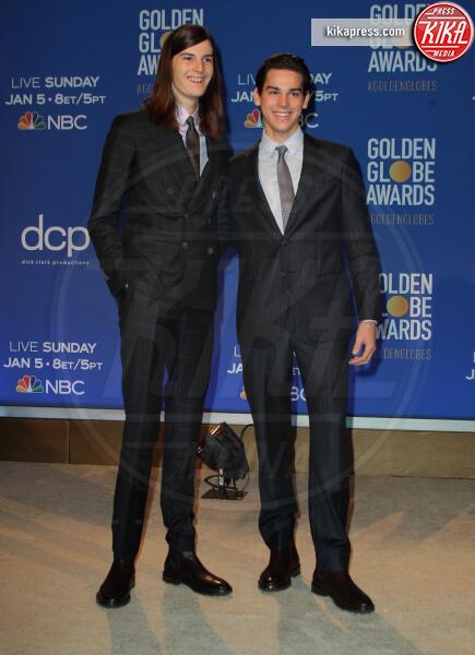 Paris Brosnan, Dylan Brosnan - Los Angeles - 09-12-2019 - Golden Globes 2020: alle nomination trionfo The Crown e Scorsese