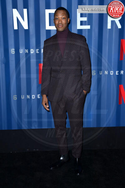 Corey Hawkins - New York - 10-12-2019 - 6 Underground, il rivoluzionario film d'azione di Michael Bay