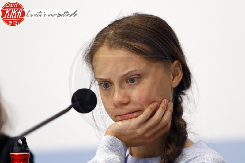 Greta Thunberg - Madrid - 10-12-2019 - Time: Greta Thunberg è la Persona dell'anno