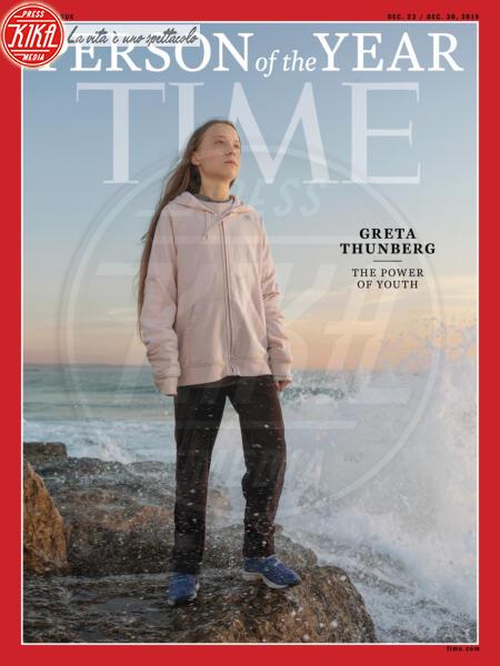 Greta Thunberg - New York - 12-12-2019 - Time: Greta Thunberg è la Persona dell'anno