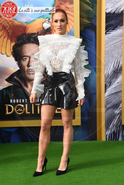 Becky Lynch - Westwood - 11-01-2020 - Dolittle, Selena Gomez regina alla premiere mondiale