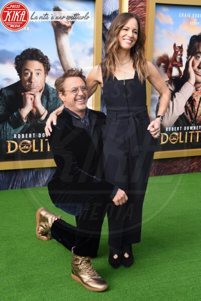 Robert Downey Jr., Susan Downey - Westwood - 11-01-2020 - Dolittle, Selena Gomez regina alla premiere mondiale