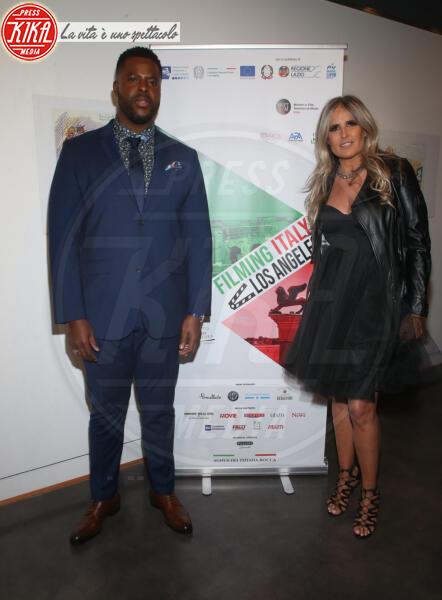 Winston Duke, Tiziana Rocca - Los Angeles - 22-01-2020 - Claudia Gerini madrina del 5o Filming Italy - Los Angeles