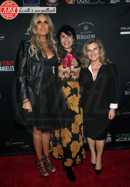 Valeria Rumori, Tiziana Rocca, Lisa Edelstein - Los Angeles - 22-01-2020 - Claudia Gerini madrina del 5o Filming Italy - Los Angeles