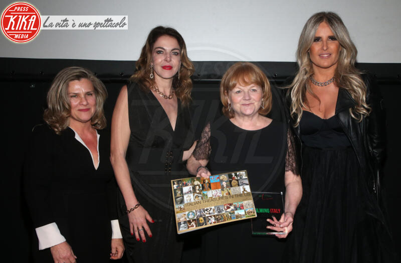 Valeria Rumori, Lesley nicol, Tiziana Rocca, Claudia Gerini - Los Angeles - 22-01-2020 - Claudia Gerini madrina del 5o Filming Italy - Los Angeles