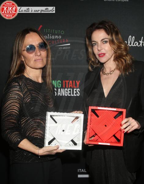 Maria Sole Tognazzi, Claudia Gerini - Los Angeles - 22-01-2020 - Claudia Gerini madrina del 5o Filming Italy - Los Angeles