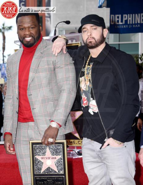 Eminem, 50 Cent - Hollywood - 30-01-2020 - Non solo Amadeus e Fiorello, quanto aiuta l'amicizia!