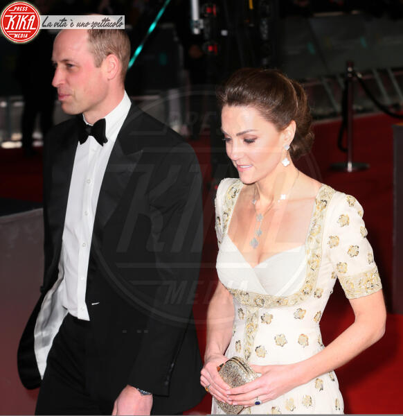 Principe William, Kate Middleton - Londra - 02-02-2020 - Bafta 2020, William e Kate vittime della goliardia di Brad Pitt