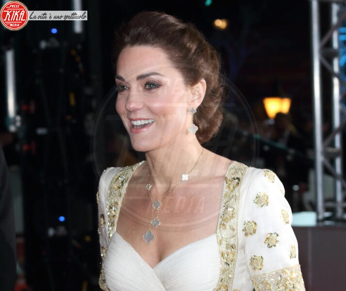 Kate Middleton - Londra - 02-02-2020 - Bafta 2020, William e Kate vittime della goliardia di Brad Pitt