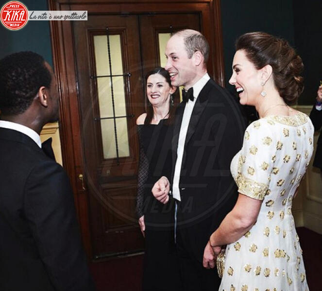 Kathleen Kennedy, Principe William, Kate Middleton - Londra - Bafta 2020, William e Kate vittime della goliardia di Brad Pitt