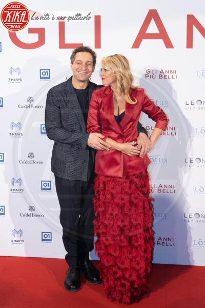Francesca Barra, Claudio Santamaria - Roma - 04-02-2020 - Gli anni più belli: le star sul red carpet