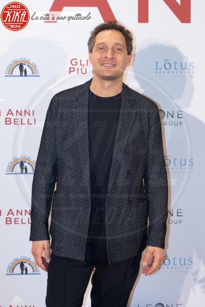 Claudio Santamaria - Roma - 04-02-2020 - Gli anni più belli: le star sul red carpet