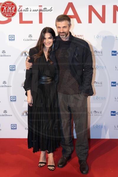 Ilaria Spada, Kim Rossi Stuart - Roma - 04-02-2020 - Gli anni più belli: le star sul red carpet