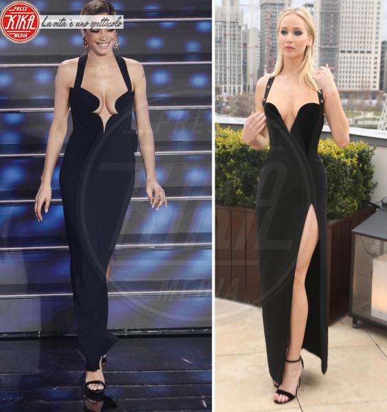 Elodie, Jennifer Lawrence - Sanremo - 08-02-2020 - Sanremo contro Hollywood: chi lo indossa meglio?