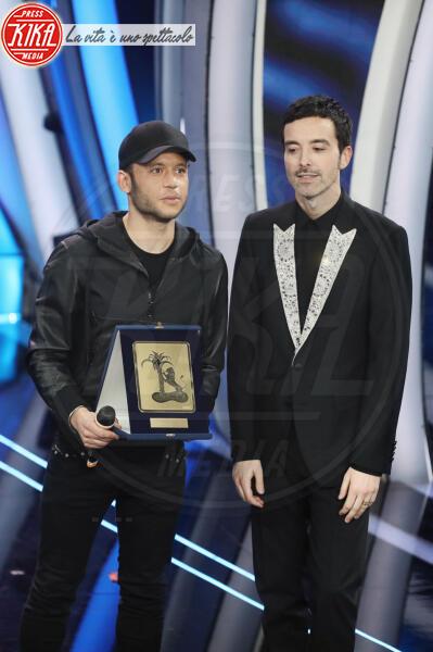 Rancore, Diodato - Sanremo - 09-02-2020 - Sanremo 2020: Diodato vince il premio Mia Martini