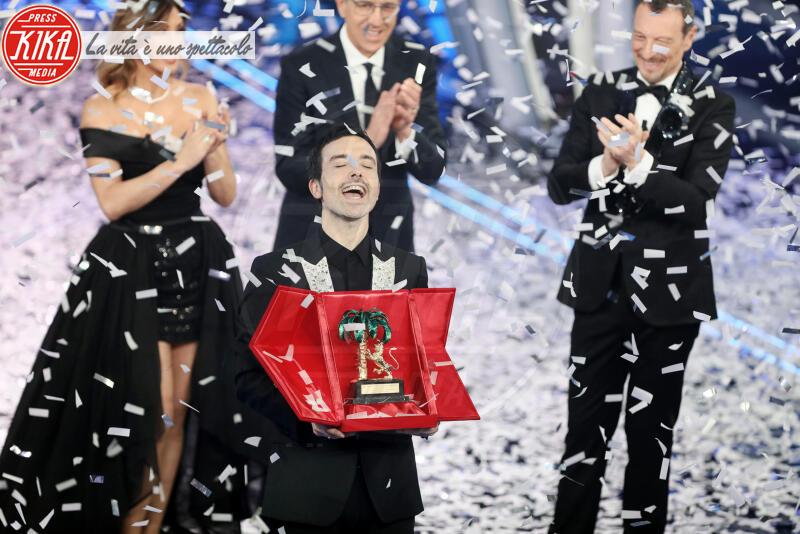 Diodato, Sabrina Salerno, Amadeus - Sanremo - 09-02-2020 - Sanremo 2020: Diodato vince il premio Mia Martini