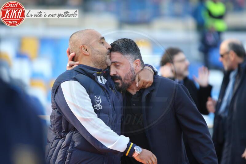 Fabio Liverani, Gennaro Gattuso - Napoli - 09-02-2020 - Non solo Amadeus e Fiorello, quanto aiuta l'amicizia!