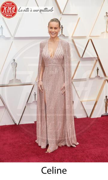 Brie Larson - Hollywood - 09-02-2020 - Oscar 2020: gli stilisti sul red carpet
