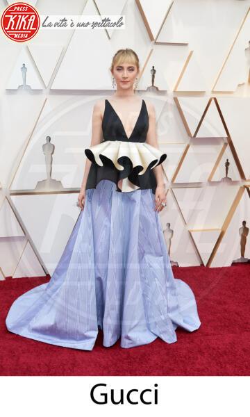 Saoirse Ronan - Hollywood - 09-02-2020 - Oscar 2020: gli stilisti sul red carpet