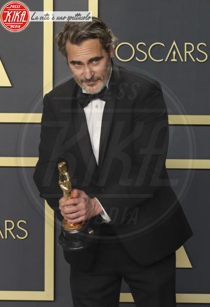 Oscars 2020: PRESS ROOM, Joaquin Phoenix - Hollywood - 09-02-2020 - Oscar 2020: Parasite fa la storia con 4 statuette da record