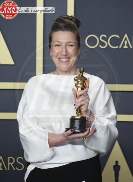 Jacqueline Durran, Oscars 2020: PRESS ROOM - Los Angeles - 09-02-2020 - Oscar 2020: Parasite fa la storia con 4 statuette da record