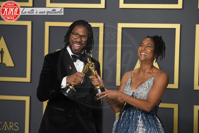 KAREN RUPERT TOLIVER, MATTHEW A. CHERRY, Oscars 2020: PRESS ROOM - Los Angeles - 09-02-2020 - Oscar 2020: Parasite fa la storia con 4 statuette da record