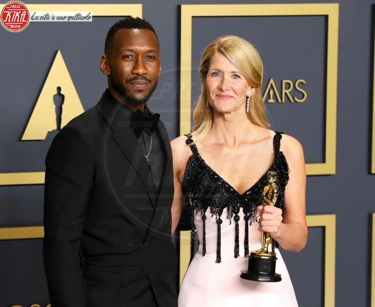 Oscars 2020: PRESS ROOM, Mahershala Ali, Laura Dern - Hollywood - 09-02-2020 - Oscar 2020: Parasite fa la storia con 4 statuette da record