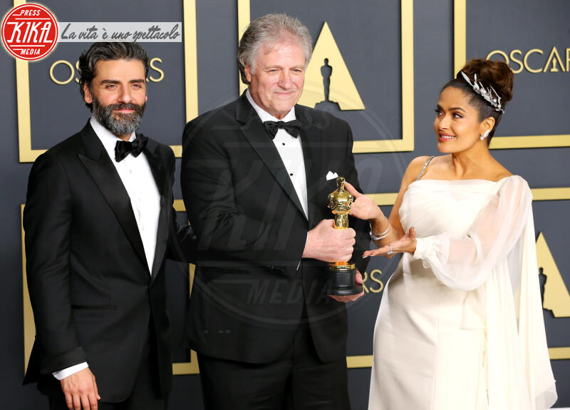 Donald Sylvester, Oscars 2020: PRESS ROOM, Oscar Isaac, Salma Hayek - Hollywood - 09-02-2020 - Oscar 2020: Parasite fa la storia con 4 statuette da record