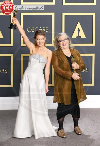Elena Andreicheva, Carol Dysinger, Oscars 2020: PRESS ROOM - Hollywood - 09-02-2020 - Oscar 2020: Parasite fa la storia con 4 statuette da record