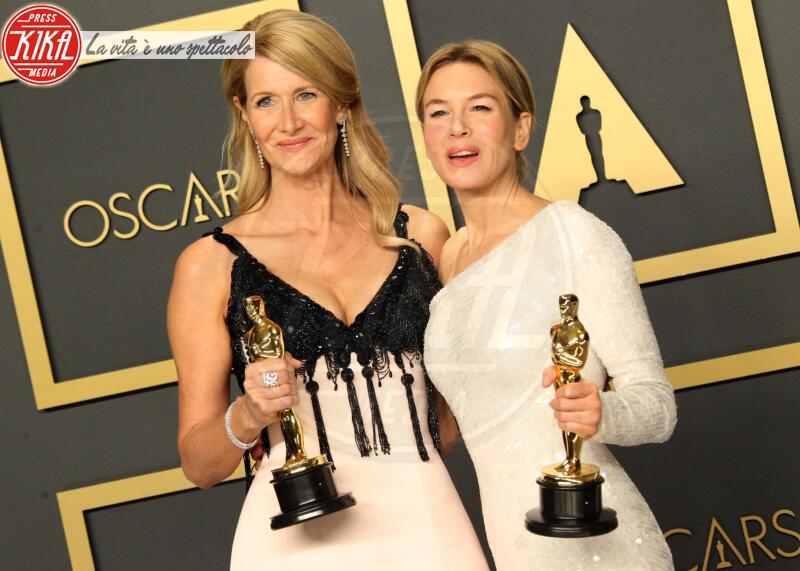 Laura Dern, Renee Zellweger - Los Angeles - 09-02-2020 - Oscar 2020: Parasite fa la storia con 4 statuette da record