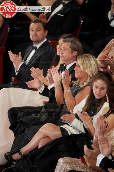 Leonardo DiCaprio, Brad Pitt - Los Angeles - 09-02-2020 - La prima volta di Camila Morrone e Leonardo DiCaprio